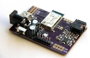 Bluetooth Audio Link Development Board (video)
