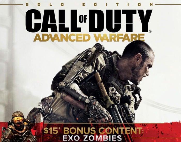 Call of Duty Advanced Warfare Gold Edition