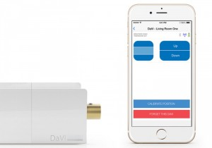 Control Your Blinds From Your Smartphone Using DaVi (video)