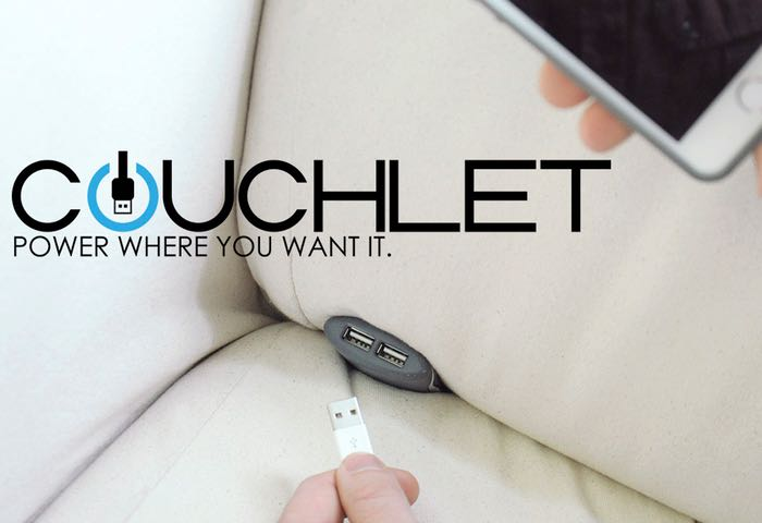 Couchlet Dual USB Charging Ports