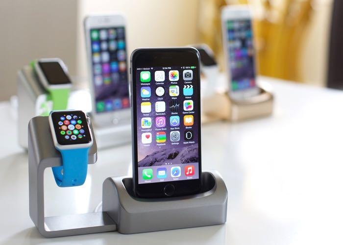 Duet Apple Watch Dock