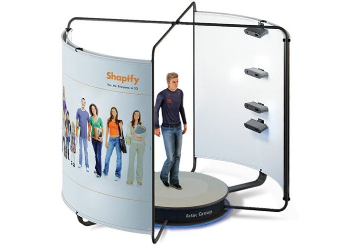 Full Body 3D Scanner
