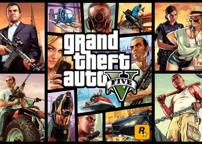 Grand Theft Auto 5 Oculus Rift Virtual