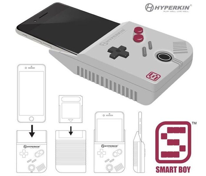 Hyperkin Smart Boy Transforms Your iPhone 6 Plus Into A Game Boy Color