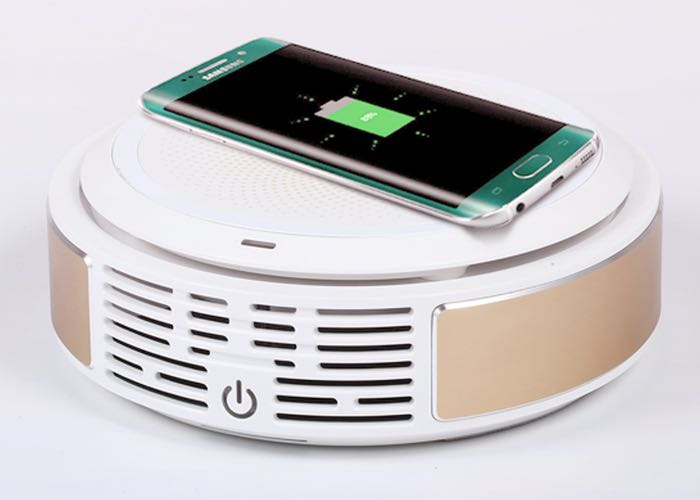 Gbreeze Smart Aircleaner And Wireless Charger