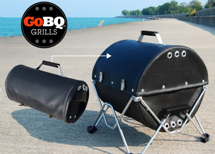 GoBQ Grill Fabric Portable BBQ Grill