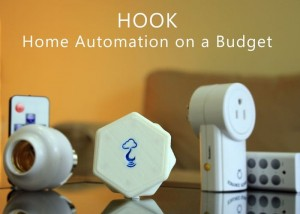Hook Budget Home Automation System (video)