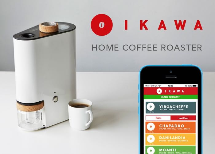 IKAWA The Smartphone Controlled Home Coffee Bean Roaster