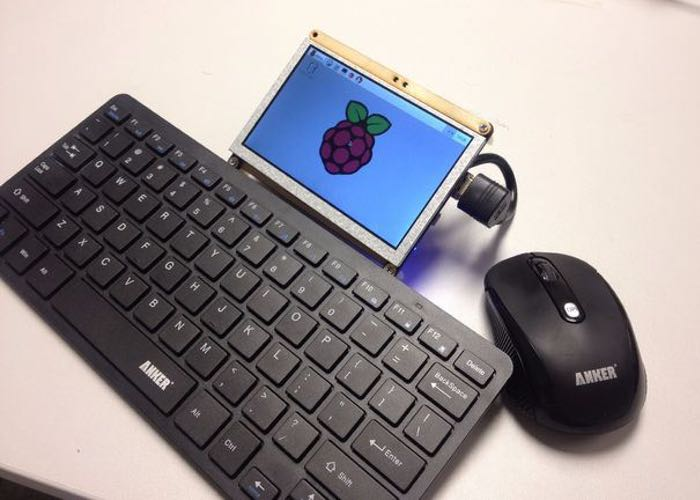 Lightweight DIY Raspberry Pi Laptop
