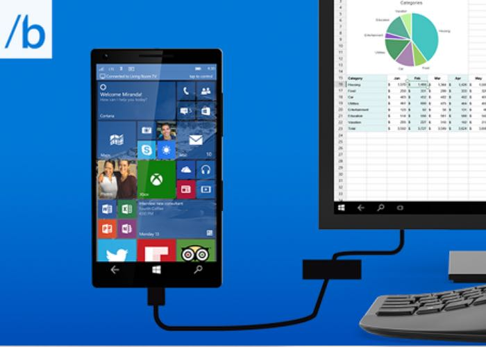Microsoft Continuum Transforms Windows 10 Smartphones Into Desktop PCs