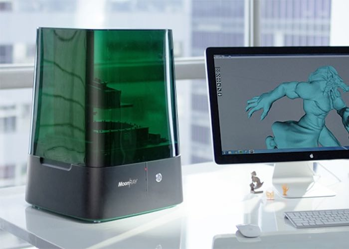 MoonRay Desktop 3D Printer