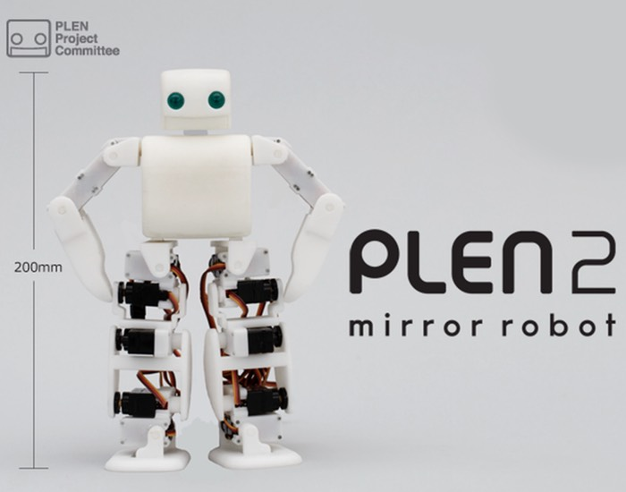 Plen2 3d Printable Humanoid Open Source Robot Launches On
