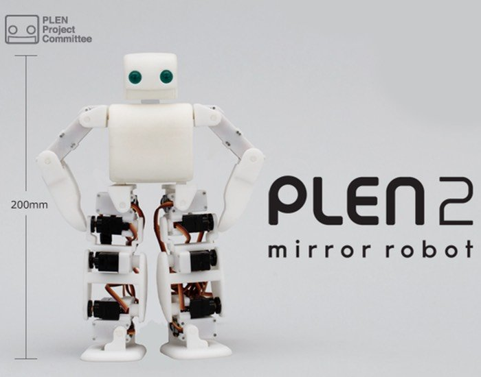 PLEN2 3D Printable Humanoid Open Source Robot