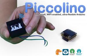Piccolino OLED Arduino Screen Includes WiFi, SRAM And SD Card (video)