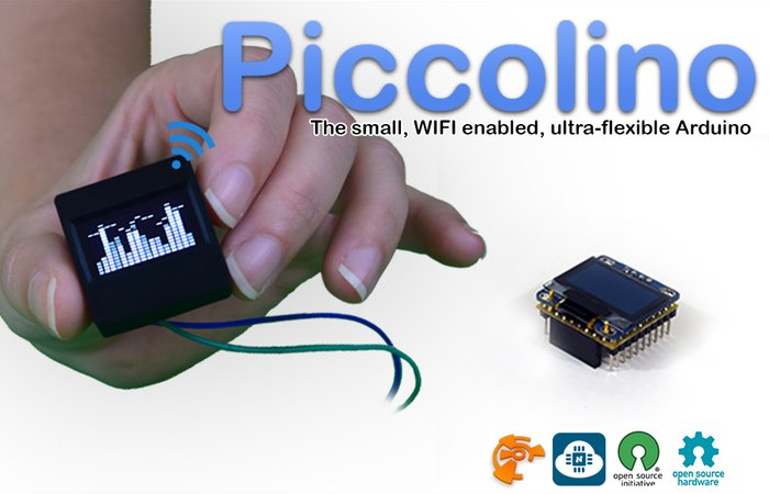Piccolino OLED Arduino Screen