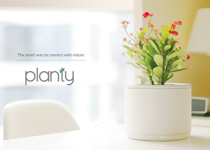 Planty Internet Connected Smart Plant Pot