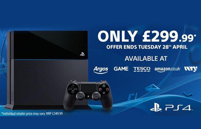 PlayStation 4 UK Price