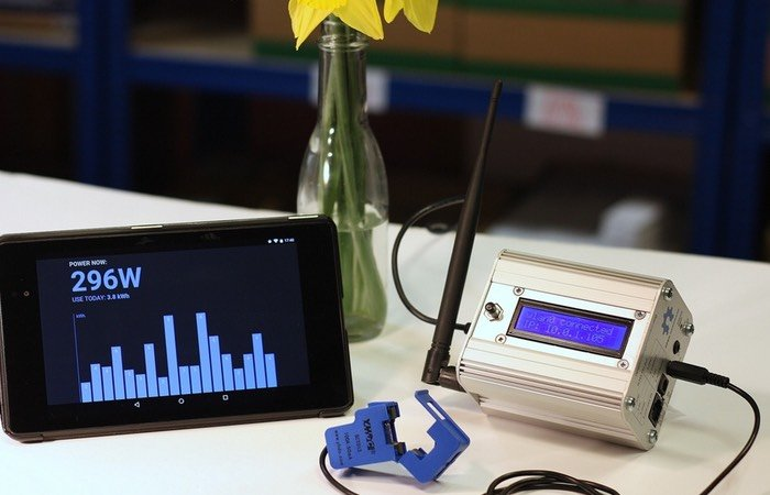 Raspberry Pi Powered Energy Monitor