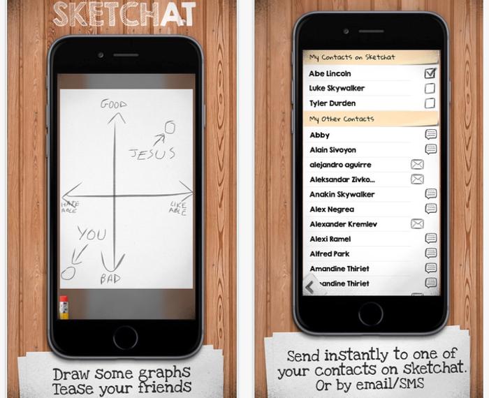Sketchat app