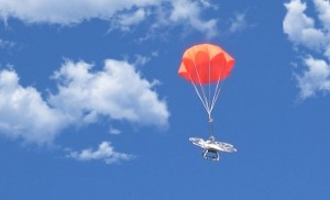 Quadcopter Parachute System Helps Your Drone Return To Earth Gently When Problems Arise (video)
