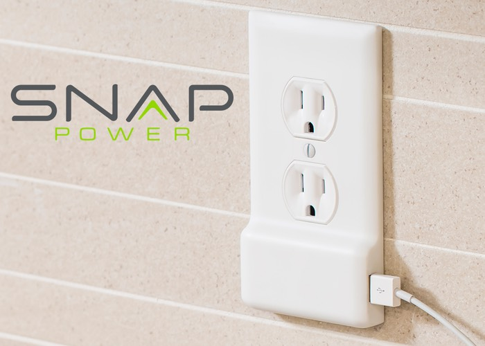SnapPower USB Charger Coverplate