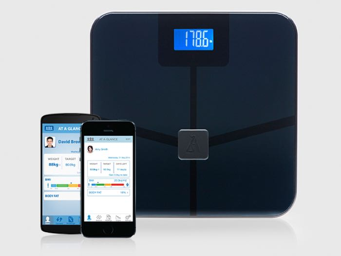 BlueAnatmony Wireless Body Scale