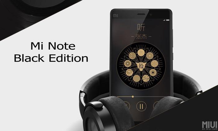 Xiaomi Mi Note Black Edition