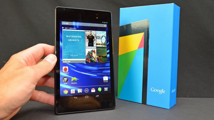 Nexus 7 tablet