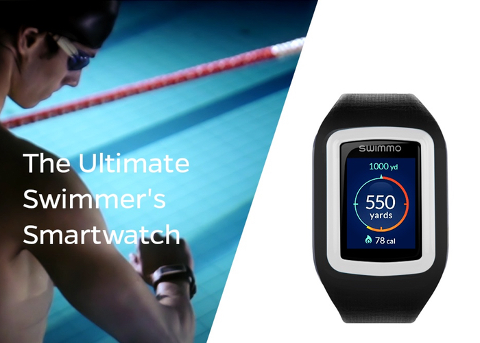 Swimmo The Swimmer's Waterproof Smartwatch (video)
