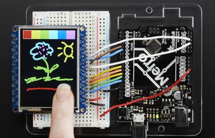 Adafruit 2.4 Inch TFT LCD