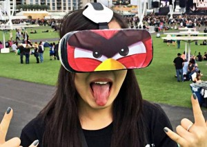 Angry Birds Virtual Reality