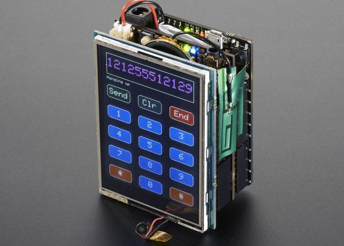Arduino Mobile Phone