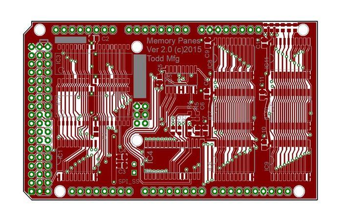 Arduino Compatible Mega2560 Expansion RAM