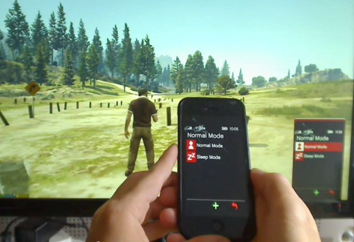 Arduino Hack Lets You Control GTA V Cellphone