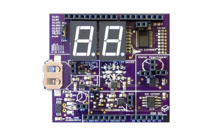 Arduino Microcontroller Spectrum I2C Expansion Board