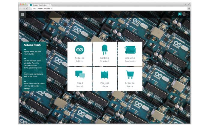 Arduino Web Based Create