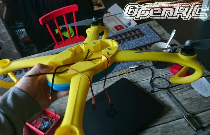 Awesome OpenRC 3D Printed Quadcopter