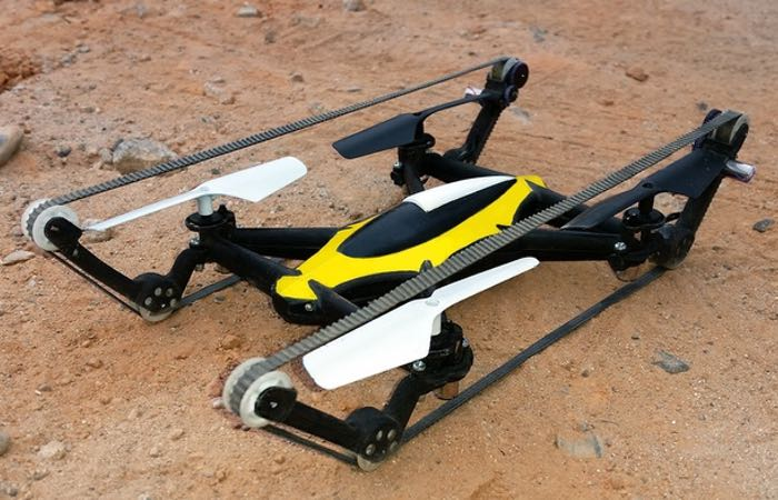 B-Unstoppable Quadcopter-Tank