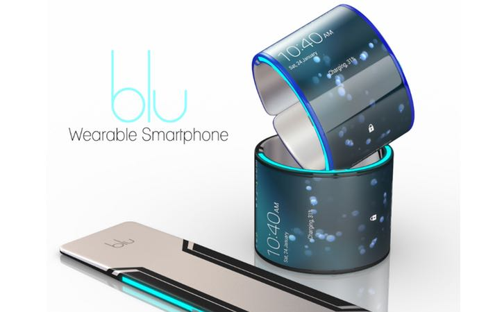 Blu Wearable Smartphone Launches On Kickstarter (video)