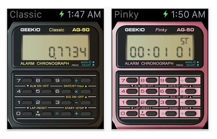 Casio Calculator Apple Watch App