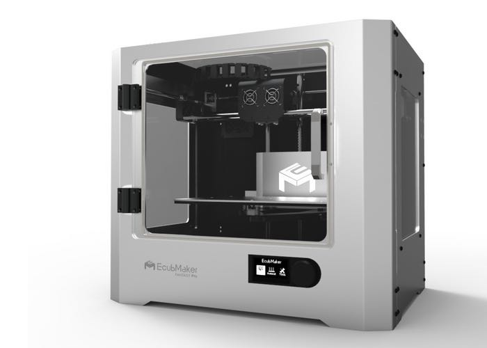 EcubMaker Fantasy Pro II 3D Printer Unveiled And Available To Pre-Order