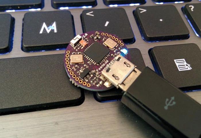 FemtoBeacon Tiny Wireless IMU, ARM Cortex M0+ Board
