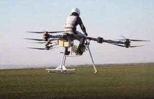Flike Personal Tricopter