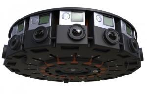GoPro 16 Camera 360 Degree Array Unveiled At Google I/O