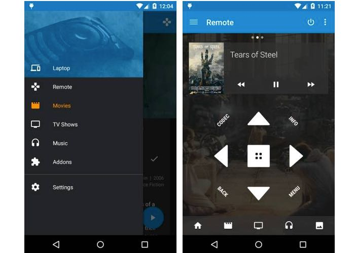 Kore Official Open Source Android Kodi Remote App Launches