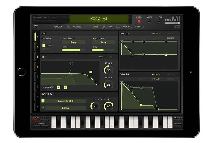 Korg M1 Synthesizer App