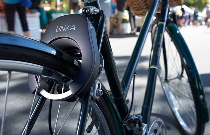 LINKA Auto-Unlocking Smart Bike Lock