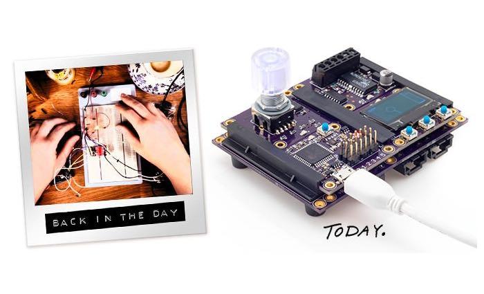 Modulo Arduino Based Modular Development Board
