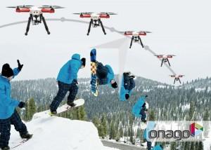 Onago Auto-follow Camera Drone Launches For $499 (video)