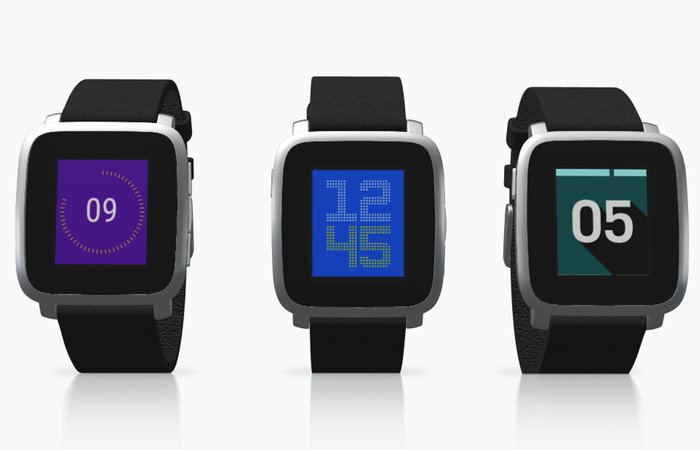 Pebble Smartwatch Kiezel Watchface Collection